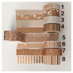 A washi sample is perfect for you if you do not want to commit to a whole roll of washi tape. These samples are perfect to decorate your planner, scrapbooks, notebooks, and just about anything. Each sample is at least 18. These will be wrapped on a plastic bobbin/card. Please select the