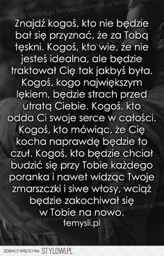 Stylowa kolekcja inspiracji z kategorii Design Wisdom Thoughts, Bullet Journal Ideas Pages, Motto, Couple Quotes, Romantic Quotes, All You Need Is Love, Life Lessons, Psychology, It Hurts