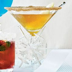 Spicy Pear-tini | Coastalliving.com