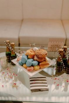 Epernay Lounge Styled Wedding After Party - photo by Levi Tijerina. Denver, Colorado.