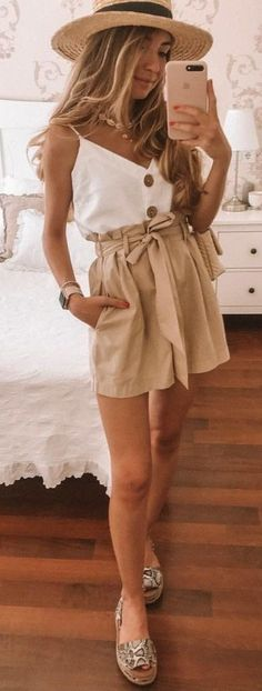 45 Insane Summer Outfits To Inspire You - Trendy Outfits Casual Summer Outfits, Spring Outfits, Trendy Outfits, Sporty Outfits, Grunge Outfits, Winter Outfits, Mode Outfits, Fashion Outfits, Womens Fashion