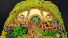 Sculpting Hobbit House in Polymer clay