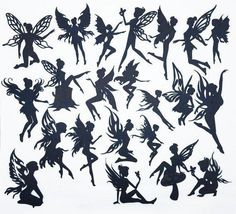 Creative Embellishments Scrapbook Laser Cut Chipboard Fairies Mega Pack 22 pieces (Black) Thick chipboard pieces Perfect for Fairy Jar Projects Quality Chipboard Can be painted Fairy Silhouette, Silhouette Design, Silhouette Painting, Silhouette Cameo, Mason Jar Crafts, Mason Jars, Mason Jar Lanterns, Jar Candles, Small Fairy Tattoos