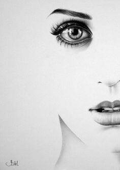 Katy Perry Minimalism Half Series Original Pencil Drawing Fine Art Portrait SALE. $139.99, via Etsy.