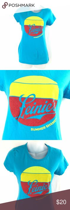 e37ac36225ac Leinie s Summer Shandy Graphic T-Shirt Large Retro District - Very  Important Tee - Women s