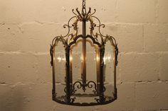 bronzen hal lantaarn
