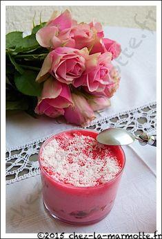 Tiramisu tout rose fraises et coco