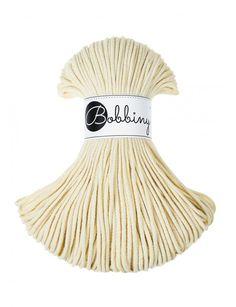 Blonde sznurek pleciony 3mm 100m bobbiny Macrame Projects, Craft Projects, Macrame Wall Hanger, Knit Rug, Macrame Cord, Pastel Yellow, Chunky Yarn, Cotton Rope, Surprise Gifts