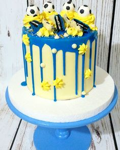 Tortas Soccer Birthday Cakes, 10th Birthday, Harry Potter Theme Cake, Sport Cakes, Big Cakes, Buttercream Cake, Themed Cakes, Cake Designs, Birthdays