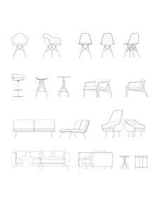Home Design Architekturzeichnung - Baustil Plans Architecture, Architecture Drawings, Interior Architecture, Modern Interior, Architecture Illustrations, Architecture Graphics, Home Design, Interior Design Sketches, Interior Rendering
