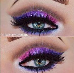 purple #makeup #eyeshadow #eyemakeup