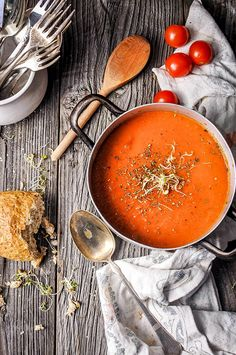 Super Ideas soup photography tomato – Top Of The World Food Photography Styling, Food Styling, Creative Photography, Photography Ideas, Soup Recipes, Cooking Recipes, C'est Bon, Food Presentation, Food Inspiration