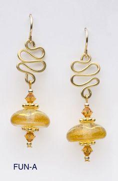 Excellent earrings! I love DeVeer Designs!