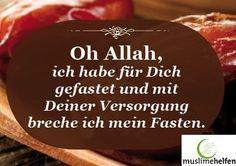 The dua to break your fasting  #Bittgebet vor dem Fastenbrechen im #ramadan #islam #arabisch
