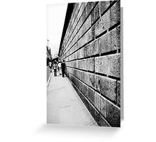 'Street Lines' Greeting Card by nath-gary