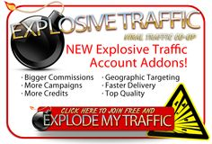 Explosive Traffic's Co-Op system helped me generate more sales by getting traffic from literally thousands of different traffic exchanges. Mail Marketing, Affiliate Marketing, Internet Marketing, Online Marketing, Internet Jobs, Way To Make Money, Make Money Online, Advertising Methods, Search Engine Marketing