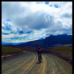 """""""Biking down from the #volcanocotopaxi down till #lake #limpiopungo. The wind in my hair( secured by me helmet) and on my face was #refreshing. The view while biking down was #breathtaking. Must do when in #cotopaxi . The best way to come down to the ground level is biking it. #volcano #cotopaxi #quito #ecuador #allyouneedisecuador #ecuadorpotenciaturistica #latinamerica"""" Photo taken by @madaboutdeetravel on Instagram, pinned via the InstaPin iOS App! http://www.instapinapp.com (07/29/2015)"""