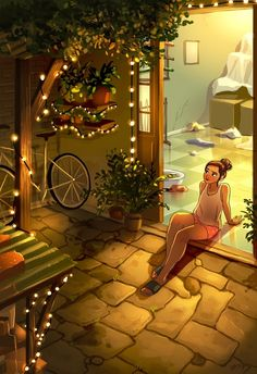 Illustrator Yaoyao Ma Van As Art And Illustration, Website Illustration, Cartoon Kunst, Cartoon Art, Alone Art, Illustrator, Cartoon Girl Drawing, Girl Cartoon, Digital Art Girl