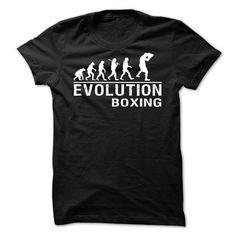 EVOLUTION BOXING - #mothers day gift #retirement gift. HURRY:   => https://www.sunfrog.com/Sports/EVOLUTION-BOXING-1529-Black-Guys.html?id=60505