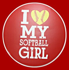 Do you  love your softball girl? Then show it! Gear up with this great decal.  http://gear-hub.com/products/i-love-my-softball-girl
