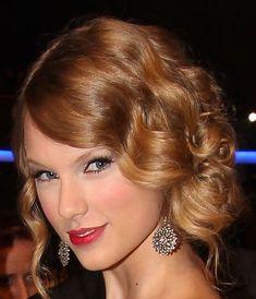 Peinados: Taylor Swift Retro Peinado Updo