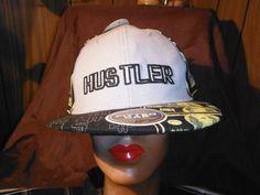 """Detroit """"Hustler """" Fitted Hat - Hats"""
