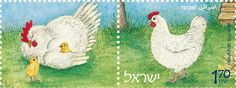 Chook stamps!!
