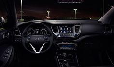 Xe Hyundai Tucson 2017 trẻ trung hơn và hiện đại hơn