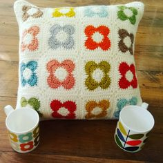 Orla-bout Orla: Part 2 – Crochet Cate Creations Bag Crochet, Crochet Home, Love Crochet, Crochet Granny, Crochet Crafts, Crochet Stitches, Crochet Projects, Granny Granny, Crochet Cushion Pattern