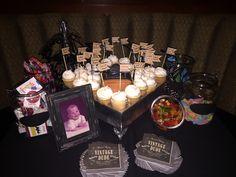 40th Birthday Party held at Mickey Mantle's Steakhouse. Bricktown, Oklahoma City, Oklahoma