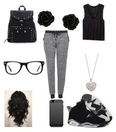 Untitled #47 by sydterific on Polyvore featuring polyvore fashion style H&M Topshop Accessorize Muse women's clothing women's fashion women female woman misses juniors