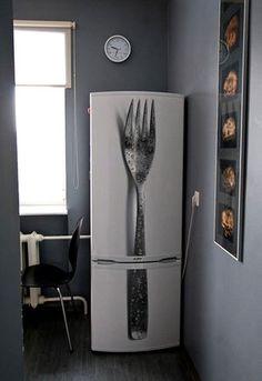 こんな冷蔵庫欲しかった! 3Dデザイン