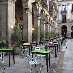Plaça Reial, Barcelona - Spain
