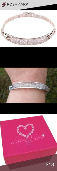 Bangle style bracelet This is a versatile bracelet that can be worn to the office, school, casually out in a date or if you're the bride to be...you can wear it on your wedding day. Brand new in Love My Gems jewelry box. Jewelry Bracelets