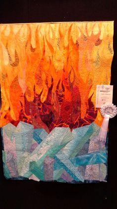 Craft & Quilt Fair 2014 | Aussie Machine Quilters - Fire and Ice