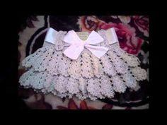Delicadezas en crochet Gabriela: 20 Tutoriales de faldas y cubre pañal para niñas