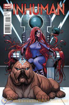 Inhumans Comic Book | COMICS: Medusa Recruits New Inhumans In INHUMAN #2 Preview