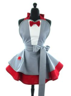 I want this!!! Pee-wee Herman | 10 Awesome Vintage Style Aprons For Your Inner Nerd