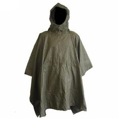 German Olive Drab Poncho Easily one of the best...