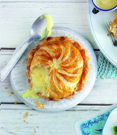 Baked Camembert Pithivier -- Try this scrumptious camembert pithivier. Great with salad and a crusty baguette