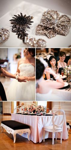 A French Inspired Bridal Shower by Jasmine Star | Style Me Pretty