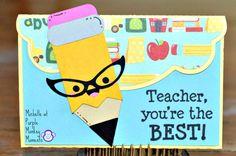 Purple Monkey Moments: Teacher You're the Best