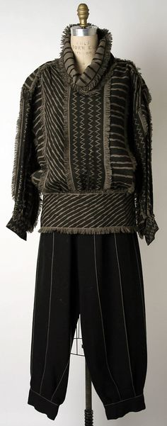 Issey Miyake 1980-2 Met Collection I GAVE THIS SHIRT AWAY....IM KILLING MYSELF...KEPT THE JACKET.....THANK GOD