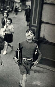 Henry Cartier-Bresson Rue Mouffetard, Paris, 1954.