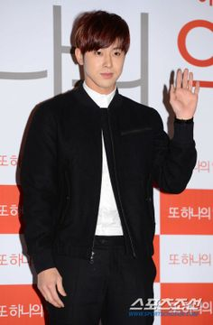 TVXQ! Yunho at a movie premiere #kpop