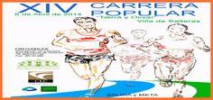 El 6 de abril de 2014, a partir de las 10.30 h. tendrá lugar la XIV Carrera Popular Tierra y Olivar Villa de Salteras. La salida será a las 11:30 horas para los adultos y en la modalidad de los 7200m. En esta carrera habrá diferentes modalidades que van desde los 800m hasta los 7200m. #sevilla #aljarafe #salteras #carreras populares #running #runners #correr #atletismo
