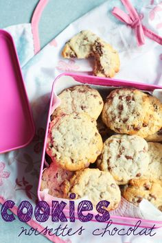 """Un """"Flo"""" de bonnes choses » Cookies noisettes chocolat"""