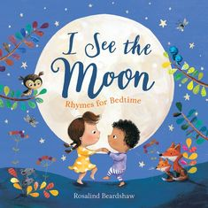 A beautifully illustrated collection of favorite rhymes for little ones preparing for bedtime. Rosalind Beardshaw's artwork features wonderful natural scenes, with adorable sleepy animals and babies ready to be lulled to sleep. Best Children Books, Childrens Books, Little Babies, Little Ones, Moon Book, Sleepy Animals, Children's Picture Books, Bedtime Stories, Moon Child