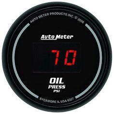 Auto Meter 6327 Sport Comp Digital 2116 0100 PSI Digital Oil Pressure Gauge *** You can get additional details at the image link.