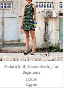 Make a shift dress